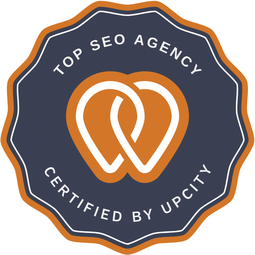 Top SEO Agency Certification Badge from UpCity